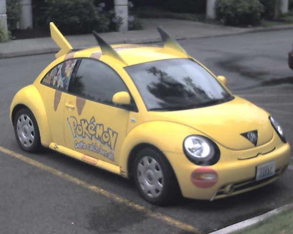 Punch Buggy Volkswagen >> Pikachu slug-bug, no slug back!   OpsanBlog